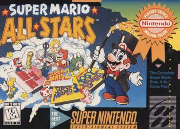 Super Mario All Stars Snes | Official Pyra and Pandora Site