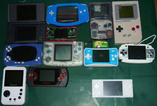 Size Comparison To Other Handhelds Official Pyra And