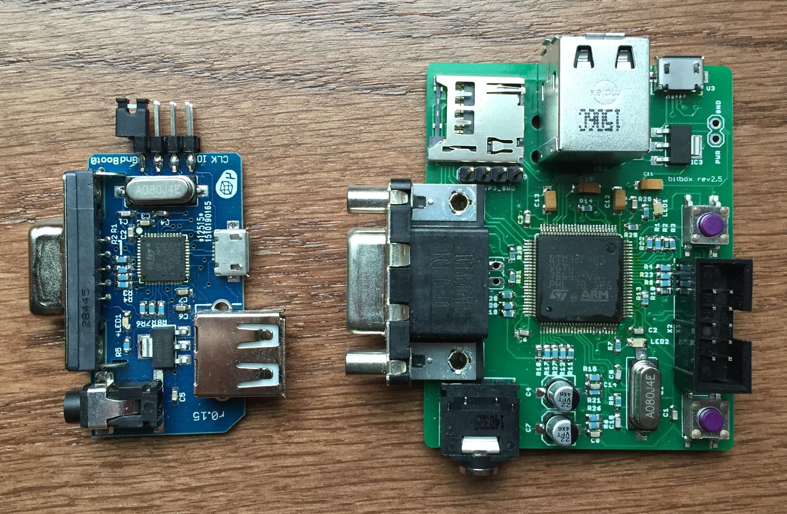 Bitbox : a small open, DIY 32 bit VGA console | Official